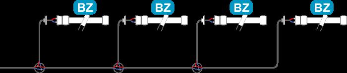 Schéma montage BZ